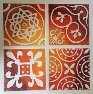 Medieval Tiles, Northampton Museum