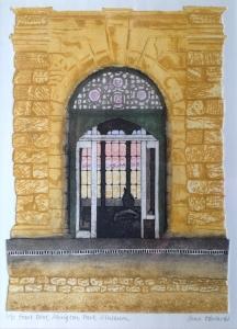 Front door, Abington Park Museum